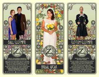 Zowie Dee Custom Made Designs - Flyer Design - Interior
