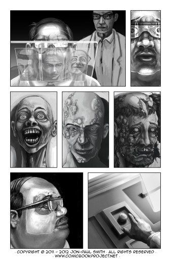 Comic Book Project Page 24 Grayscale