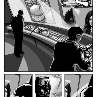 Comic Book Project Page 10 Grayscale
