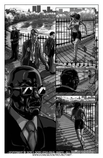 Comic Book Project Page 12 Grayscale