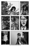 Comic Book Project Page 14Grayscale